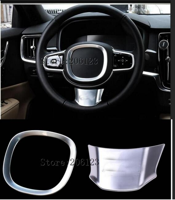 Steering Wheel Frame Decoration Cover Trim For Volvo S90