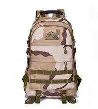 35L Camouflage Backpack Men Military Survival Backpack Multifunction Waterproof High-quality Oxford Bag Pack