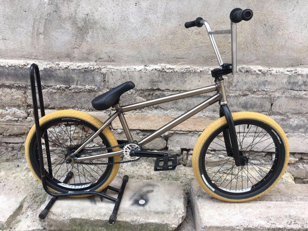 Fit vélo Co bricolage bmx vélos 20' full crmo roulements complets
