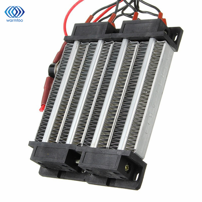 Electric Insulated PTC Heater 110V 1000W Constant Temperature Heating Element With Temperature Protection 140*102*26mm