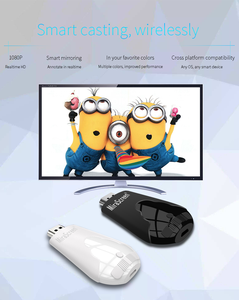 Image 2 - Mirascreen K4 TV Stick 2.4G Wireless WiFi Display Dongle Support 1080P HD Miracast Airplay For Android IOS Smart Phone Table PC