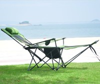 Outdoor camping folding chair office lunch bed portable mesh breathable crib beach bed leisure lounge chair fishing chair