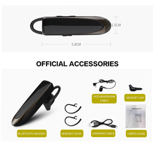 Wireless music bluetooth headset