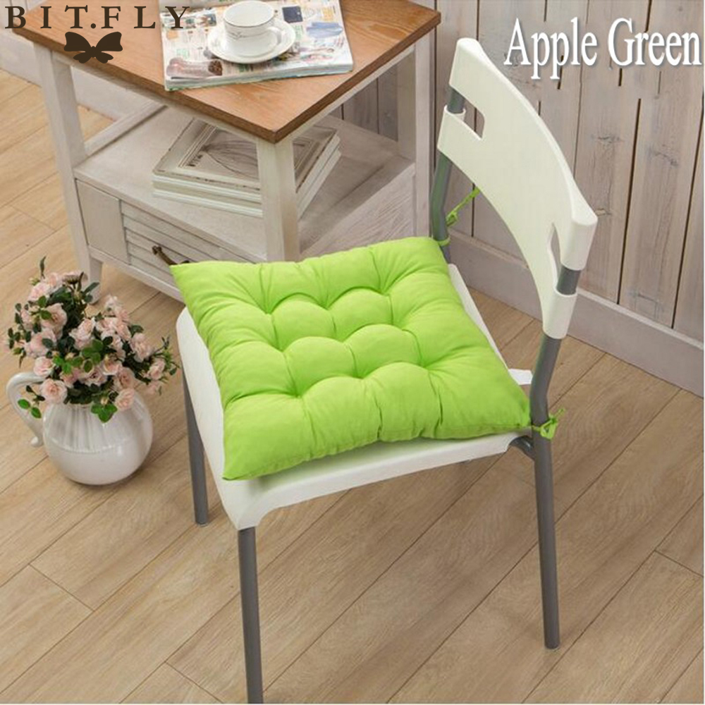 Free Shipping 40 40cm Chair Pad Cushion Pearl Cotton: 40X40CM Sofa Cotton Throw Pillows Back Cushions Seat