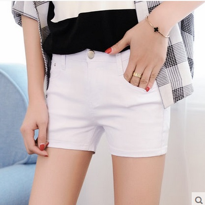 White Jeans Short Promotion-Shop for Promotional White Jeans Short