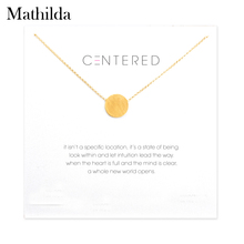 Buy soldered pendants and get free shipping on aliexpress large circle soldered necklace gold dipped pendant necklace clavicle chain statement necklace women jewelry e012 aloadofball Images
