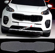 Front Grille Grill Bezel Honeycomb Mesh Cover For Kia Sportage 2016 2017 4th Gen цена