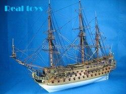 Klassische DIY modell schiff montieren kits unbesiegbar armada Die San Felipe warship modell