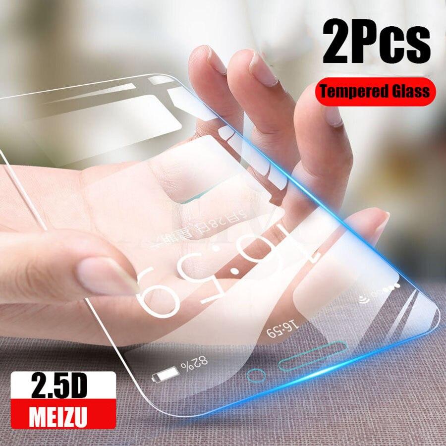 Закаленное стекло для Meizu 15 Lite 16 X S 16x16s M15, защитное закаленное стекло для Maisie M 15 15 lite, 9h, 2 шт.