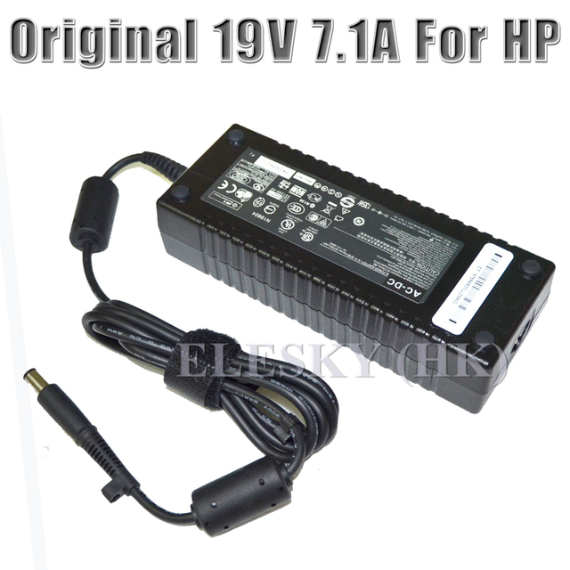 New 19V 7.1A AC Adapter for HP COMPAQ Elite 8300 8200 8000 UltraSlim ...