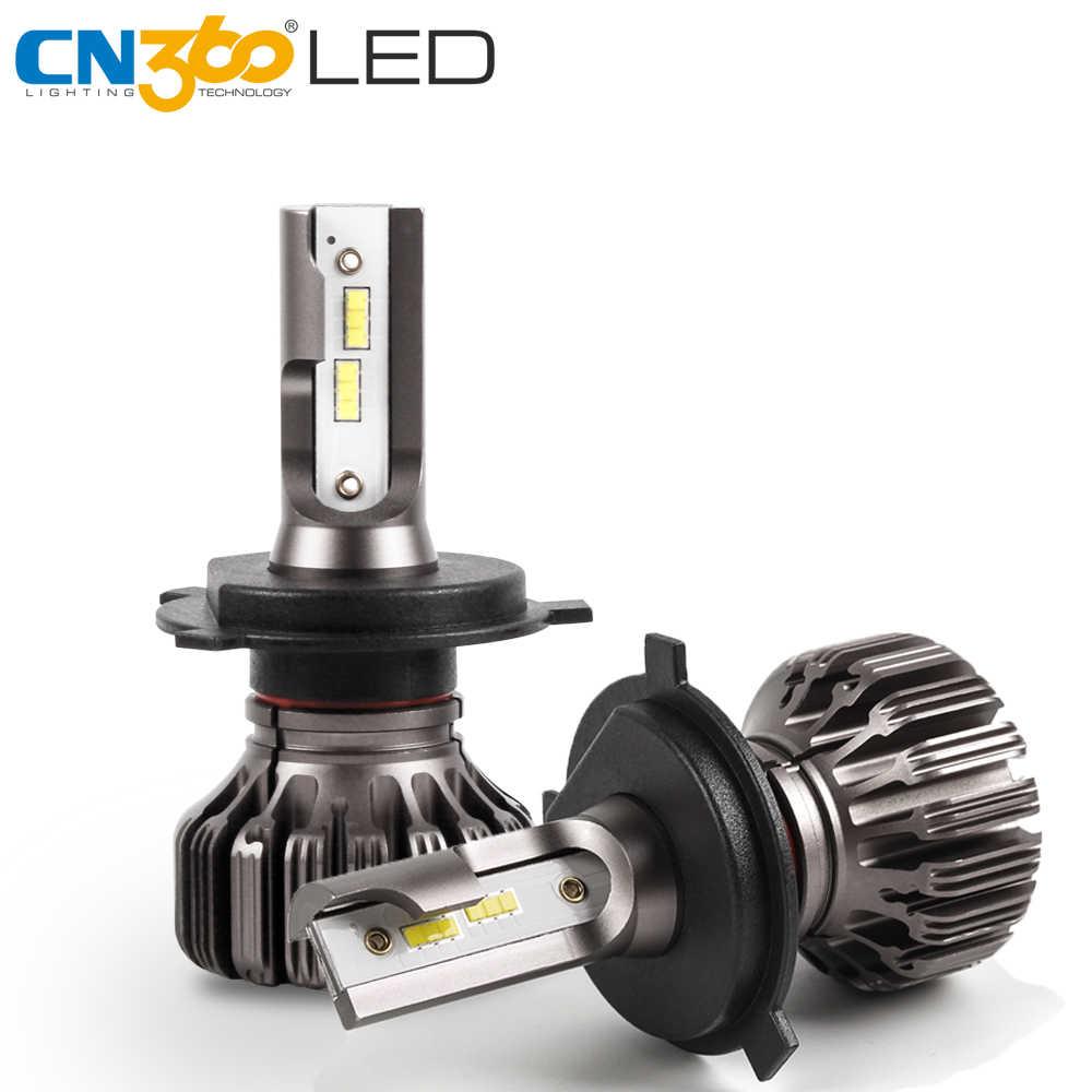 CN360 2 PCS H4 H7 H11 Led פנס 9005/HB3 9006/HB4 רכב פנס אוטומטי המרה ערכת אור נורות DC 12 V 4000LM 6500 K לבן