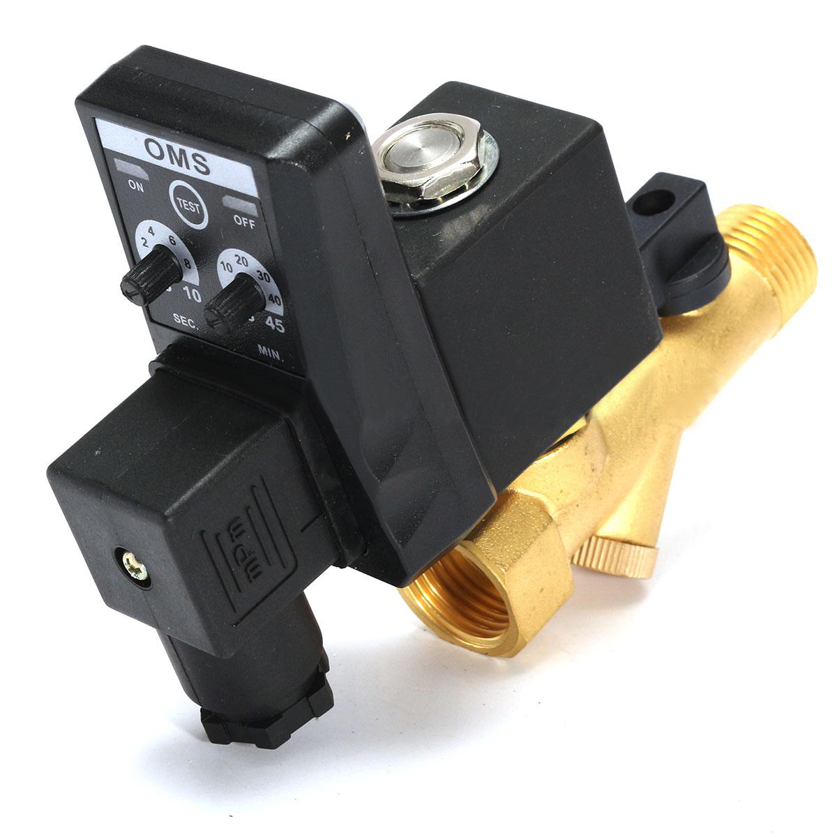 1pc Durable G1/2 Electronic Timed Drain Valve Automatic 2-way Solenoid Valves For Air Compressor Cylinders Gas Tank Mayitr