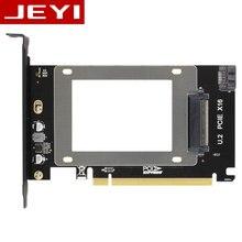 JEYI U2X16 PCI-Express 3,0 4x X16 к U.2 SFF-8639 адаптер NVMe PCIe SSD PCI-e к U2 карты M.2 NGFF 2,5 «SSD для PCI-E X16 intel x4