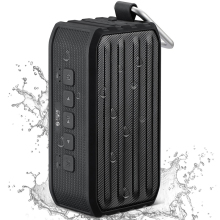 SEE ME HERE BV-370 Waterproof IPX4 Portable Wireless Bluetooth4.0 Subwoofer Speaker with Self-timer Card Reader
