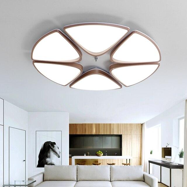 Modernas Lámparas de Techo LED Brillo regulable lamparas de techo ...