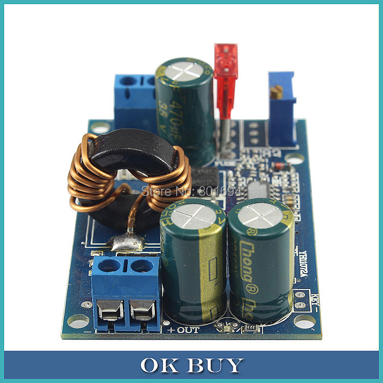 DC-DC 5V-32V To 2V-20V 5A 60W Step Up/Down Power Supply Module Automatic Boost Buck Converter Solar Wind 5pcs lot intersil isl8121irz isl8121qfn 3v to 20v two phase buck pwm controller with integrated 4a mosfet drivers