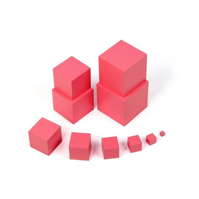 1set/10pcs Professional edition Wooden Pink Tower Toy 1-10cm 1.5kg Educational Baby Montessori Building Blocks.Teaching Game d12 t3184b educational toy coin slide chip game toy playing toy set