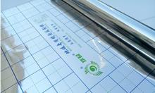 Tela de película reflectante de espejo de papel de aluminio de 10 metros, material reflectante, aislamiento térmico de piso, película reflectante.