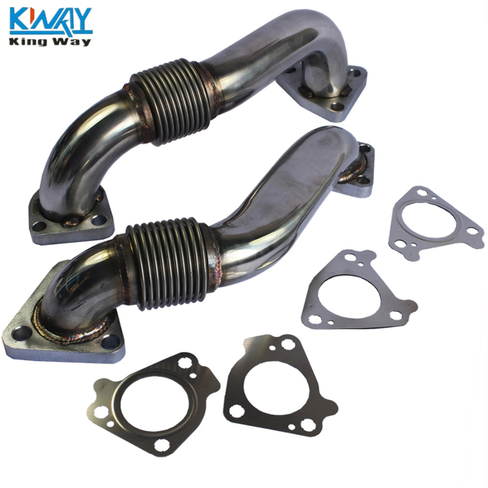 FREE SHIPPING King Way New Heavy Duty Up Pipes & Gasket