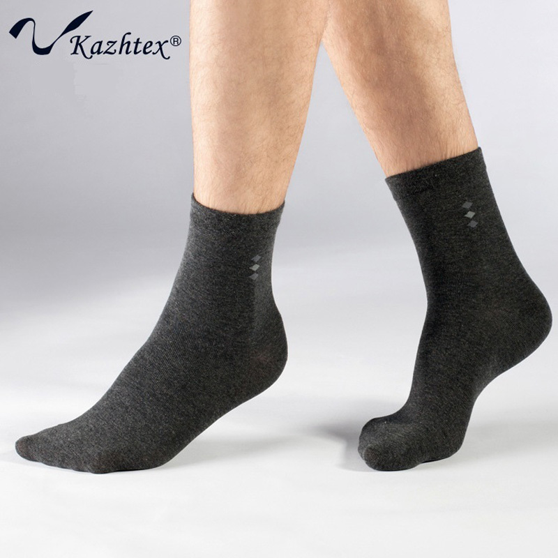 C320104 Kazhtex New style Silver fiber socks Men's Dress socks Antibacterial deodorization