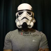 סדרת מלחמת כוכבים שחור גומי הקיסרי Stormtrooper קסדת חייל לבן קוספליי קסדת תלבושות