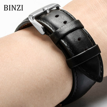 Men Women Watchband Leather Watch Band 22mm 20mm 18mm 16mm 14mm 12mm Wrist Watch Strap On Belt Watchbands Bracelet Metal Buckle цены онлайн