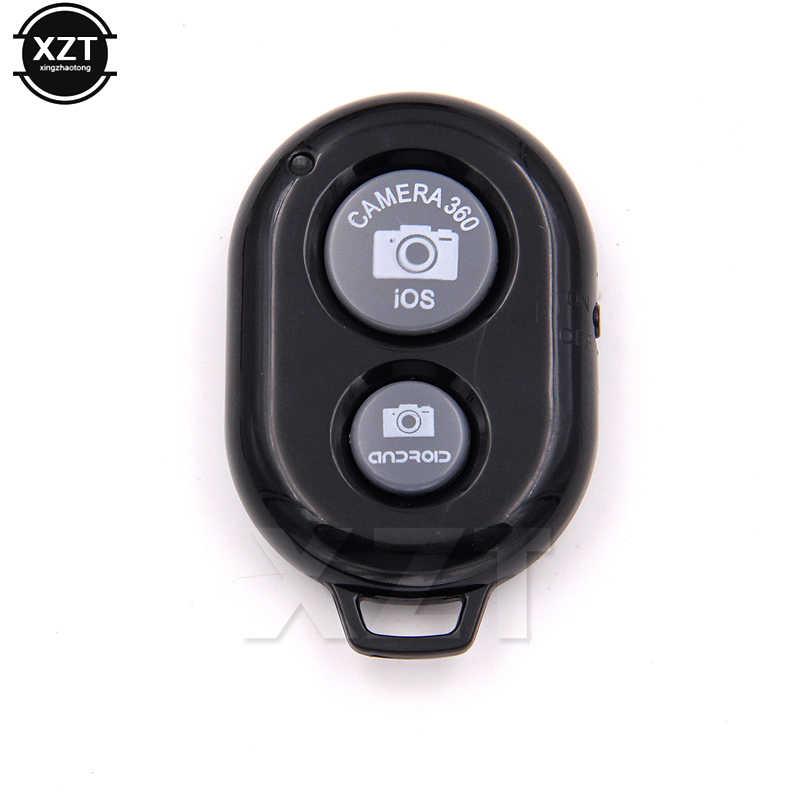 Baru Remote Shutter Selfie Shutter Bluetooth Remote Control Stick Monopod Tombol Self Timer + Pelindung Silikon Case untuk iPhone