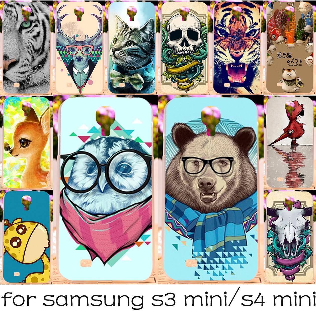 Teléfono de silicona o plástico case para samsung galaxy i8190 s3 mini 8190 4.0