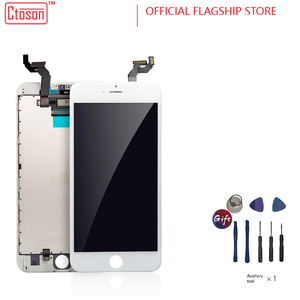 Image 1 - 5 יח\חבילה 100% AAAA מקורי LCD מסך עבור iPhone 6S בתוספת מסך LCD תצוגת Digitizer מגע מסכי החלפת צגי LCD dhl