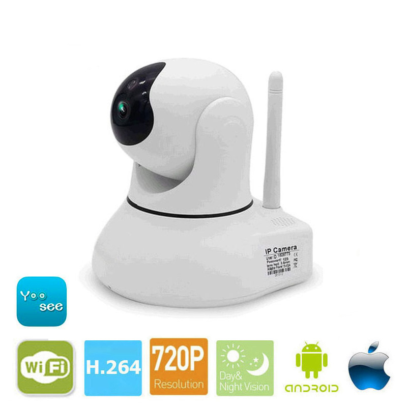 Baby Monitor Camera Wireless wifi ip camera 720P HD App Remote Control Smart Home Alarm Systems Security 1MP Webcam Yoosee APP 2017 new gift with uv lamp remote control lcd display automatic vacuum cleaner iclebo arte and smart camera baby pet monitor