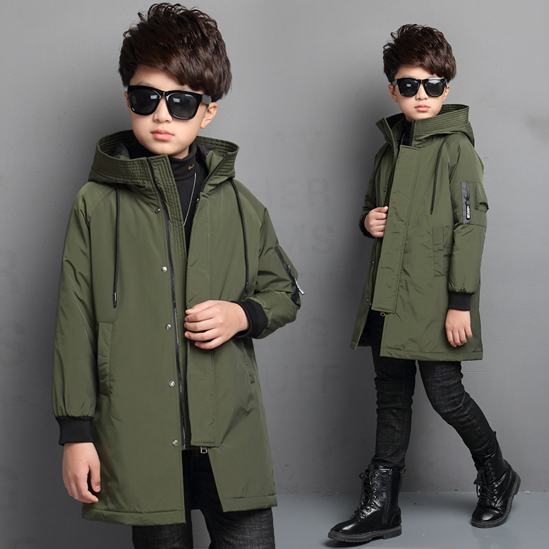 Boys Parkas 2018 Toddler Boys Winter Coats Jackets Cotton Hooded Warm Down Coat Thick Children Outwear Snowsuits 10 12 14 YearBoys Parkas 2018 Toddler Boys Winter Coats Jackets Cotton Hooded Warm Down Coat Thick Children Outwear Snowsuits 10 12 14 Year