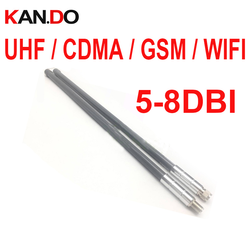 UHF CDMA GSM WIFI repeater antenna 5-8dbi gain booster use CDMA antenna GSM BOOSTER Antenna GLASS PIPE WIFI AP ANTENNA