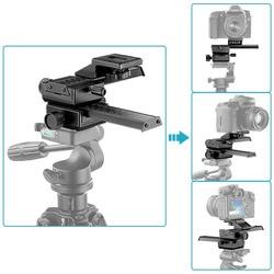 Neewer 4 Way Macro Focusing Focus Rail Slider/Close-up Shooting for Canon/Nikon etc SLR Camera+DC with Standard 1/4 Screw Hole