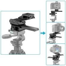 """Neewer 4 Yönlü Makro Odaklama Raylı Slider/yakın Çekim için Canon/Nikon vb SLR fotoğraf makinesi + DC Standart 1/4 """"Vida Deliği"""