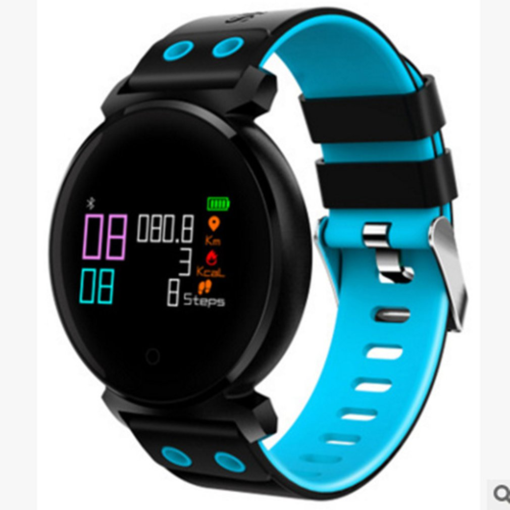Daily Waterproof Fitness Tracker Watch K2 Smart Band Blood Pressure Heart Rate Blood Oxygen Monitor Pedometer men women watch|Digital Watches| |  - title=