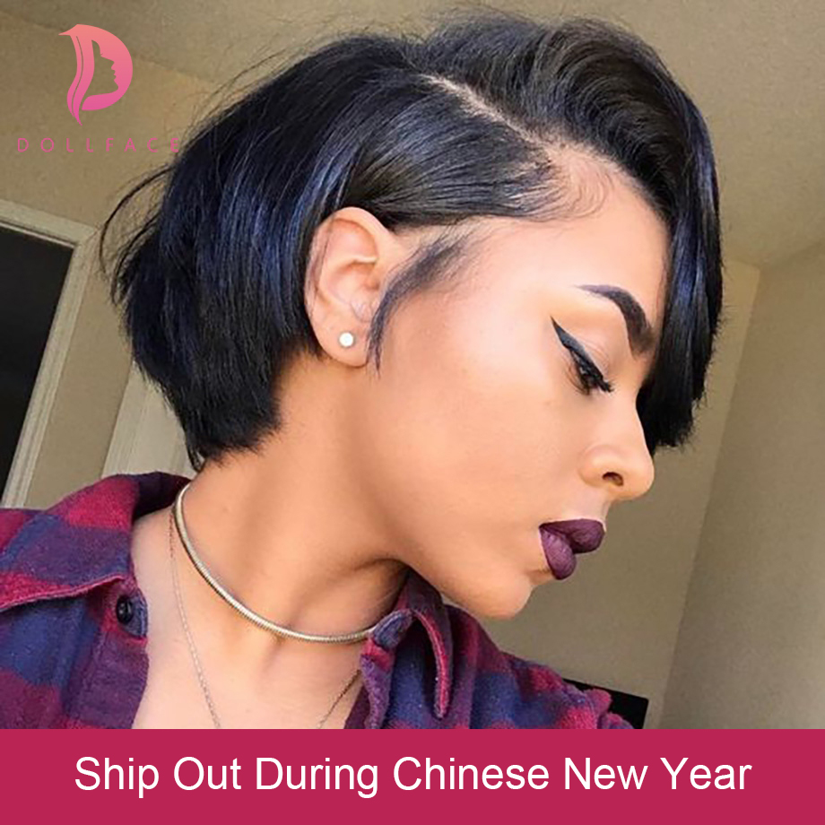 Hearty Sapphire Short Wavy Lace Front Human Hair Wigs Remy Human Hair Lace Frontal Wig Brazilian Hair Bob Wig For Black Women Lace Wigs