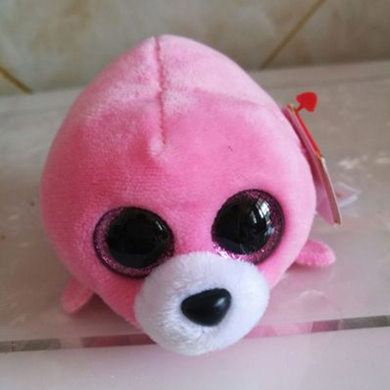 Icy The Seal 9cm Ty Beanie Boos Big Eyes Plush Toy Doll Purple Panda Baby Kids Gift Mini Toys Dolls & Stuffed Toys Stuffed & Plush Animals Trustful Ty Beanie Boo Teeny Tys Plush