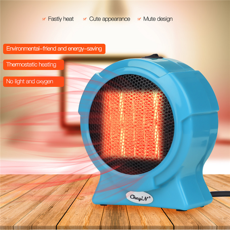 110-220V AC 400W Electric Heater Mini Fan Heater Desktop Household Office Handy Heater Stove Radiator Warmer Machine For Winter cute mini fan heater desktop household electric heater fast handy heater warm machine for winter small desktop heater