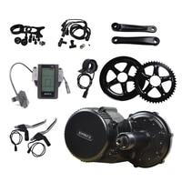 48V 750W Bafang 8Fun BBS BBS02 BBS02B Mid Drive Motor Conversion Kits For Electric Bike Middle
