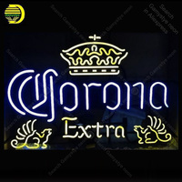 Neon Sign for Corona Extra Neon Bulb sign handcraft Beer Bar Home real glass neon signboard Decorate Hotel light Professional