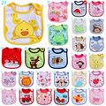 2017 New lovely Baby Boy Girl Waterproof Carter Cartoon Towel Kids Toddler Dinner Feeding Bibs baberos Bandanas Burp Clothes