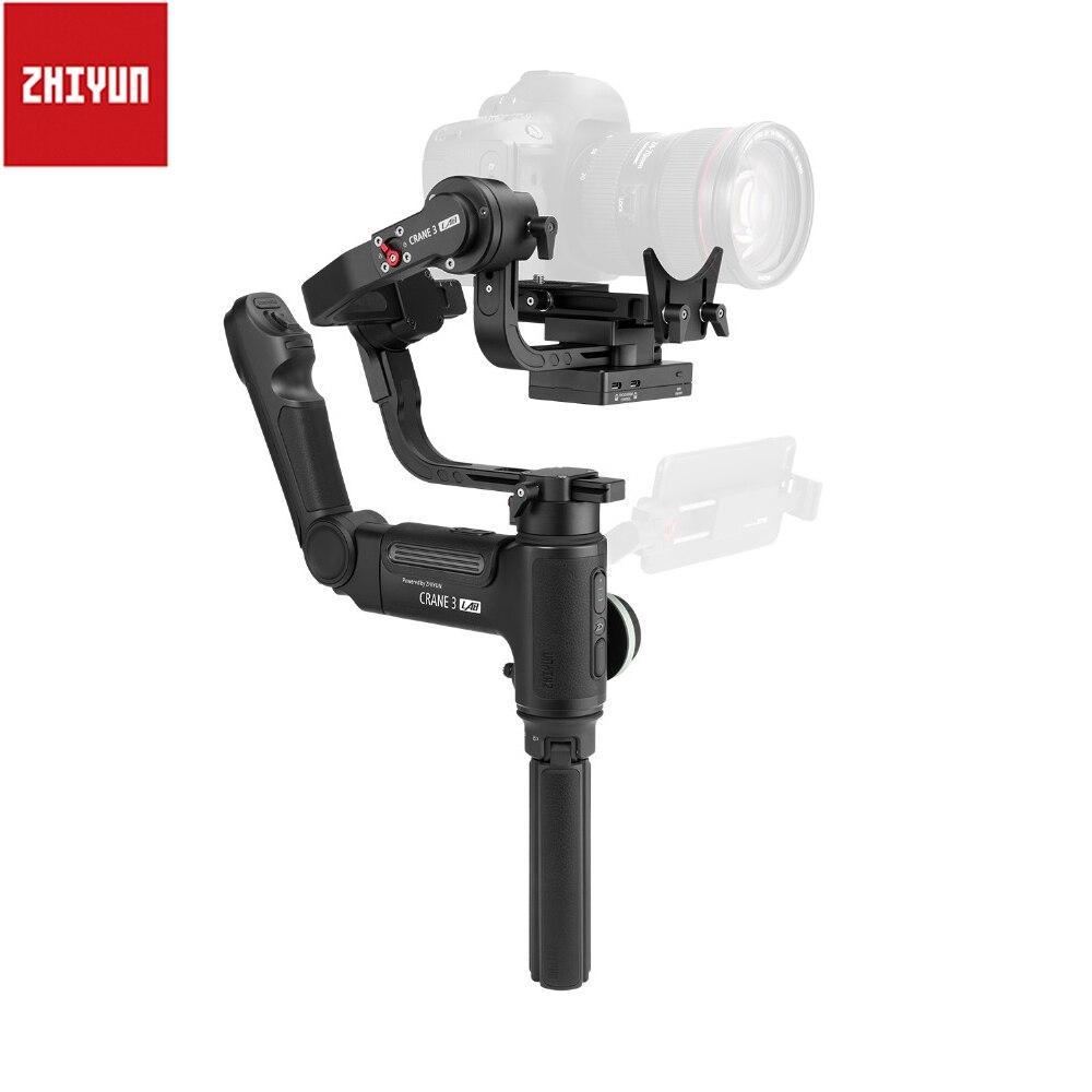 Stabilisateur de caméra de Transmission d'image FHD sans fil à cardan 3 axes Zhiyun Crane 3 axes pour grue DSLR PK 2 DJI Ronin S