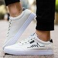 2016 Sapatos Casuais Para Homens Moda Homem Lona Moda Primavera Homem Recreativo Sapato Masculino Sapatos Casuais Sapatos masculinos Livre grátis