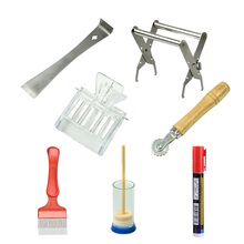 7pcs/set New Beekeeping Uncapping Fork+queen Catcher+marking Pen+hive Tool All-round Tool Practical Beekeeping Equipment Kits