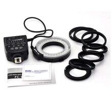 Meike Macro FC-100 d'origine LED Anneau Flash Speedlite Lumière Avec 7 Adaptateur Anneau Pour PEUT pour Nikon pour Pentax et Olympus et Fujifilm