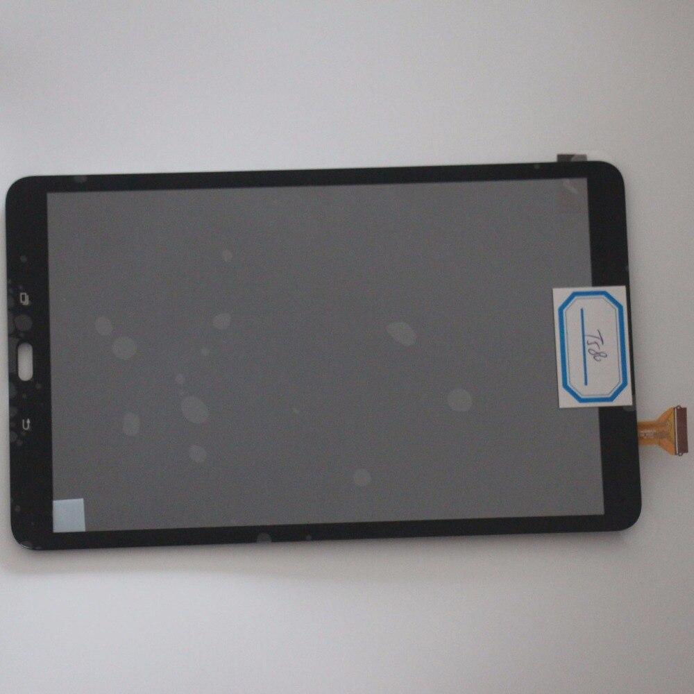Écran tactile numériseur capteur verre + LCD affichage pièces d'assemblage noir pour Samsung Tab A 10.1 T580 T585 SM-T580 SM-T585