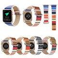 XG549 кожа iWatch Apple Watch 38 мм 42 мм Мужские и женские спортивные наручные ремешок замена Браслет для iWatch народный-пользовательский стиль