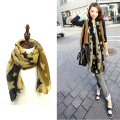2016 new winter cotton scarf Ms. Bali european fashion star pelerine muffler neckerchief