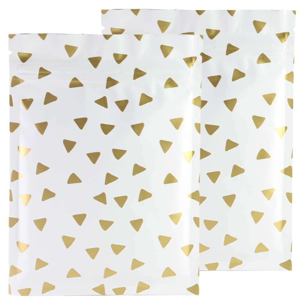 Фольга плоская пластиковая упаковка сумка индивидуальный дизайн алюминиевая фольга застежка-молния замок 3x4 дюймов