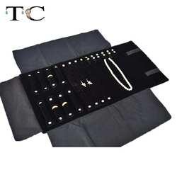 Ювелирные изделия держатель рулона случае массового хранения сумка-Органайзер-отлично подходит для путешествий Комбинации